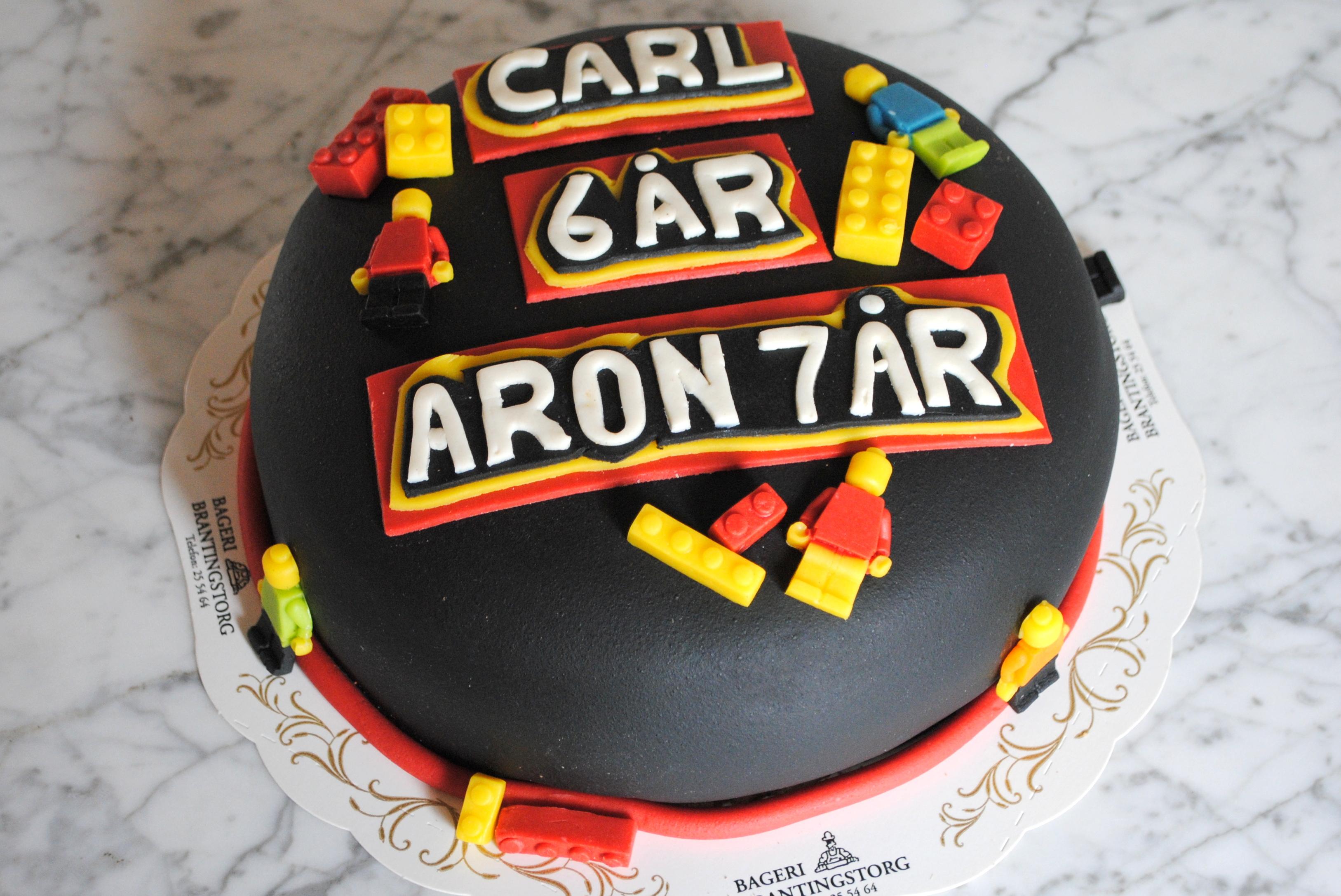 LEGO-tårta