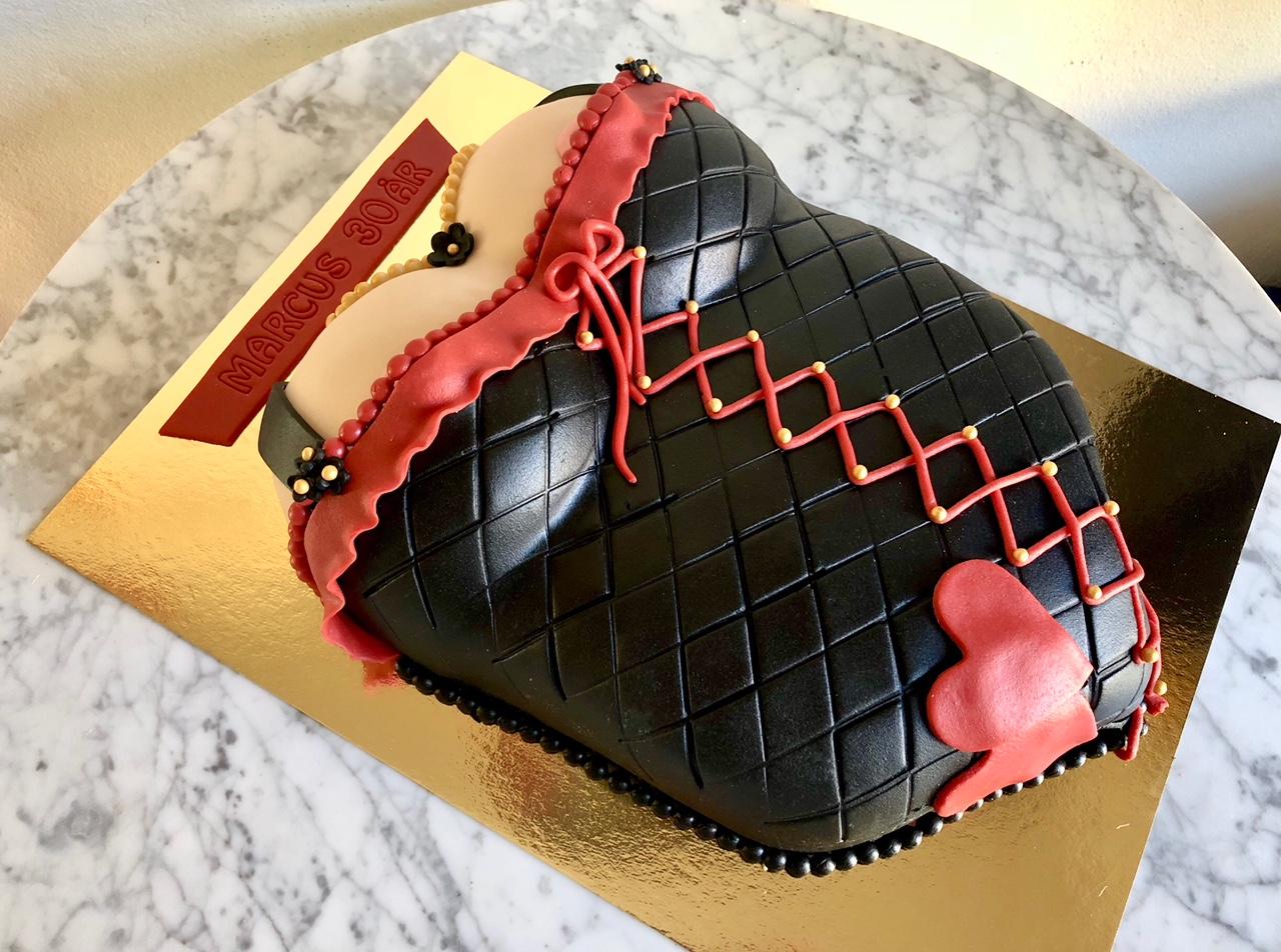 Korsett-tårta