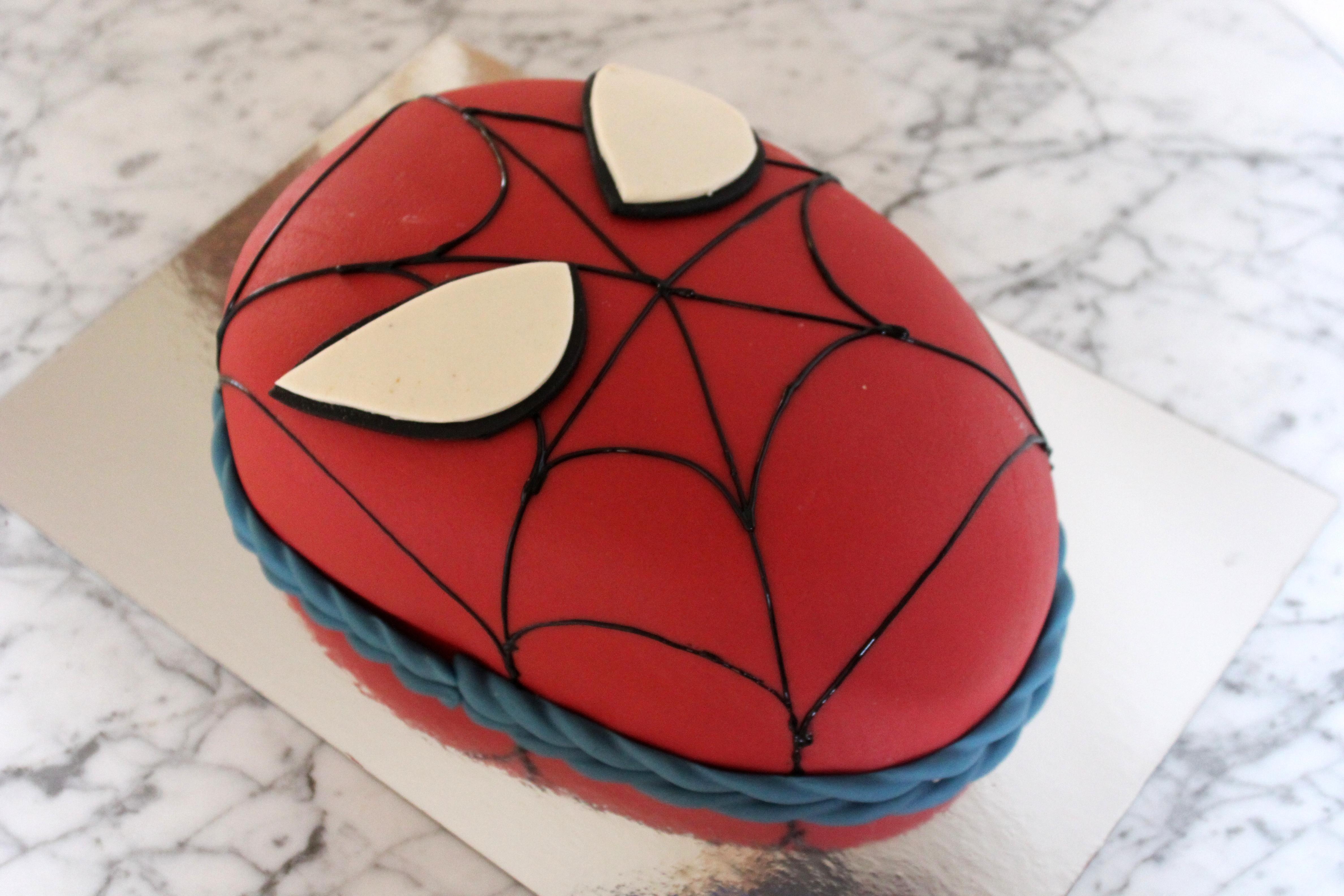 Spiderman, huvud