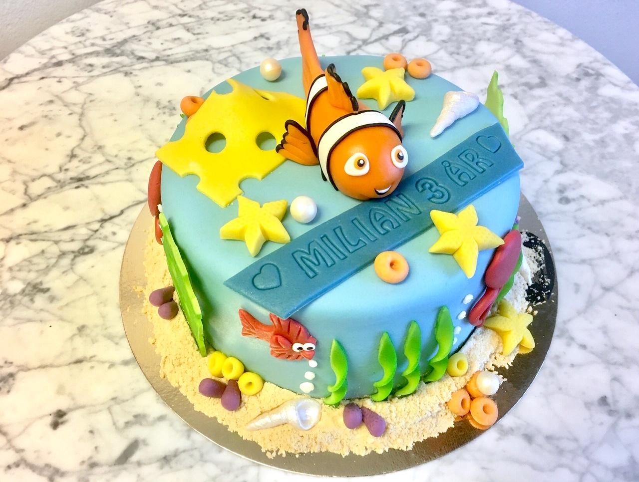 Havs-tårta Nemo