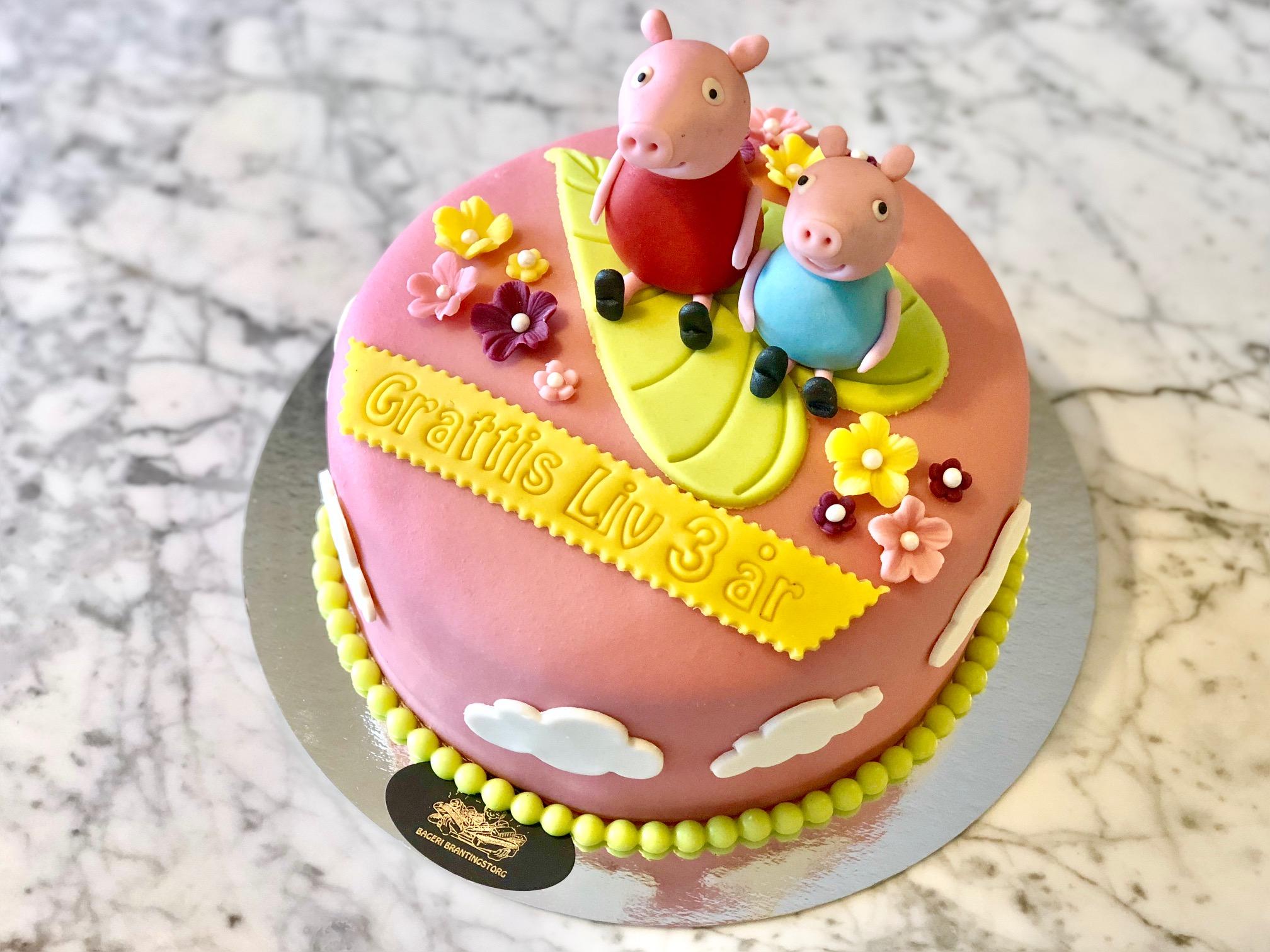 Peppapig-tårta