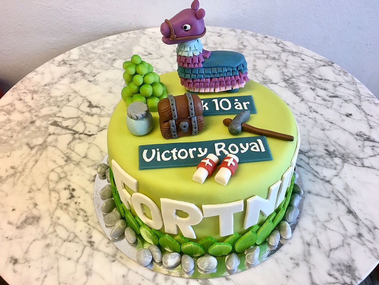 FORTNITE-tårta