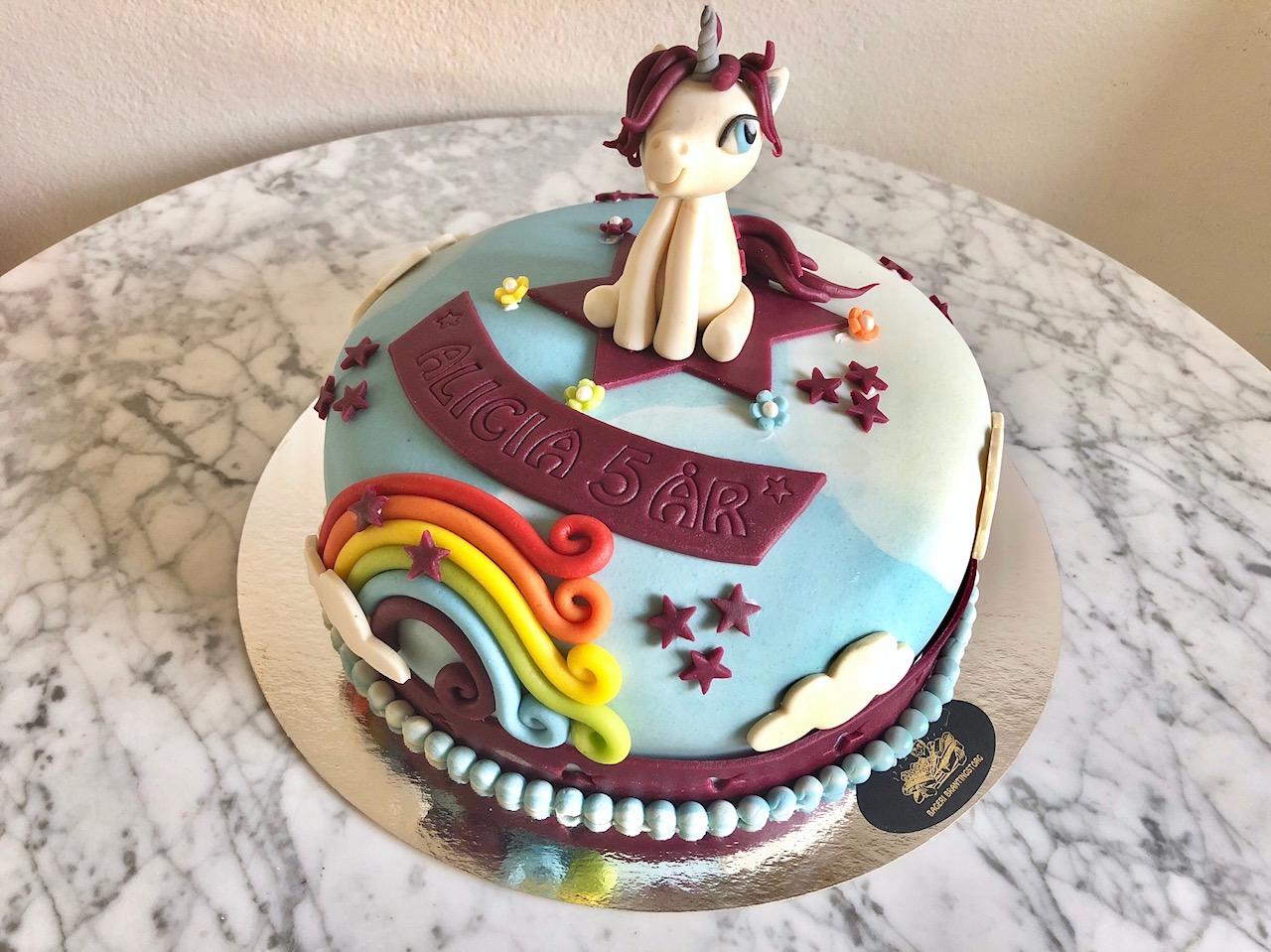 My little pony tårta sittande häst