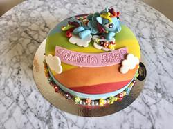 My little pony tårta liggande häst