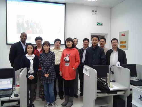 First ever Trading Diploma class at Nanjing University China