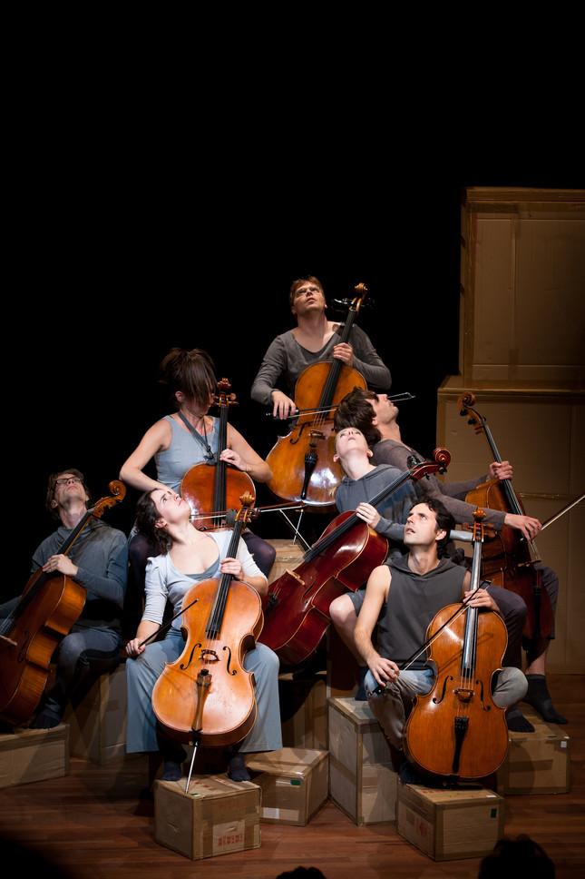 Compagnie Oorkaan und Cello8ctet Amsterdam - Cello storm_02 © Ronald Knapp