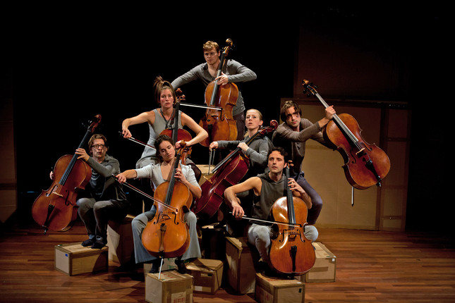 Compagnie Oorkaan und Cello8ctet Amsterdam - Cello storm_03 © Ronald Knapp