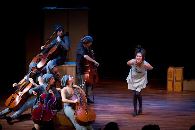 Compagnie Oorkaan und Cello8ctet Amsterdam - Cello storm_07 © Ronald Knapp