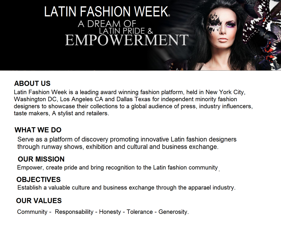 about latin fashion story value found and brand