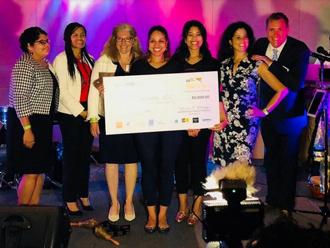 Winners of the Latinos Innovators' Pitch