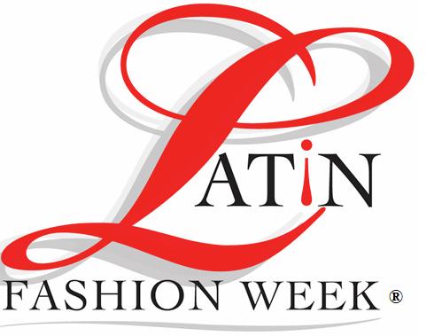latin fashion week logo in nyc during new york fashion week show (NYFW) 2018