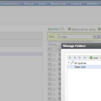 Copying Data Lists in Blackbaud CRM™