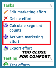 Blackbaud CRM Marketing Effort Calculate Segment Counts