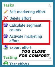 Blackbaud CRM Marketing Effort Calculate Segment Counts