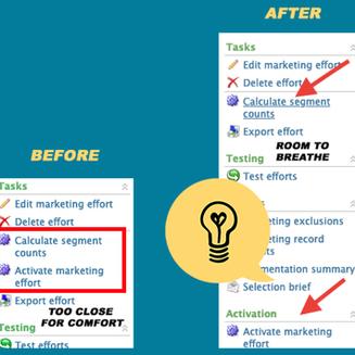Blackbaud CRM™ Marketing Effort UI Changes to Help You Stay Sane - Giveaway