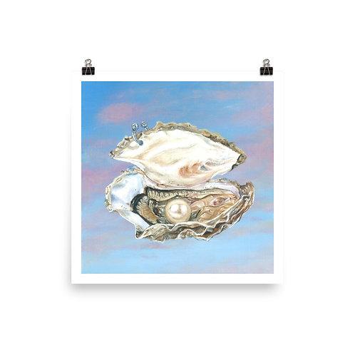 Pierced Oyster - [Art Prints]