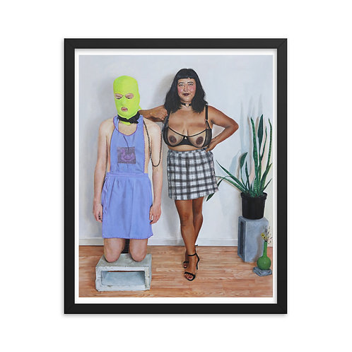 Nancy [Framed print]