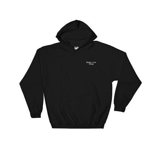 Daddy's little daddy Embroidered Hoodie