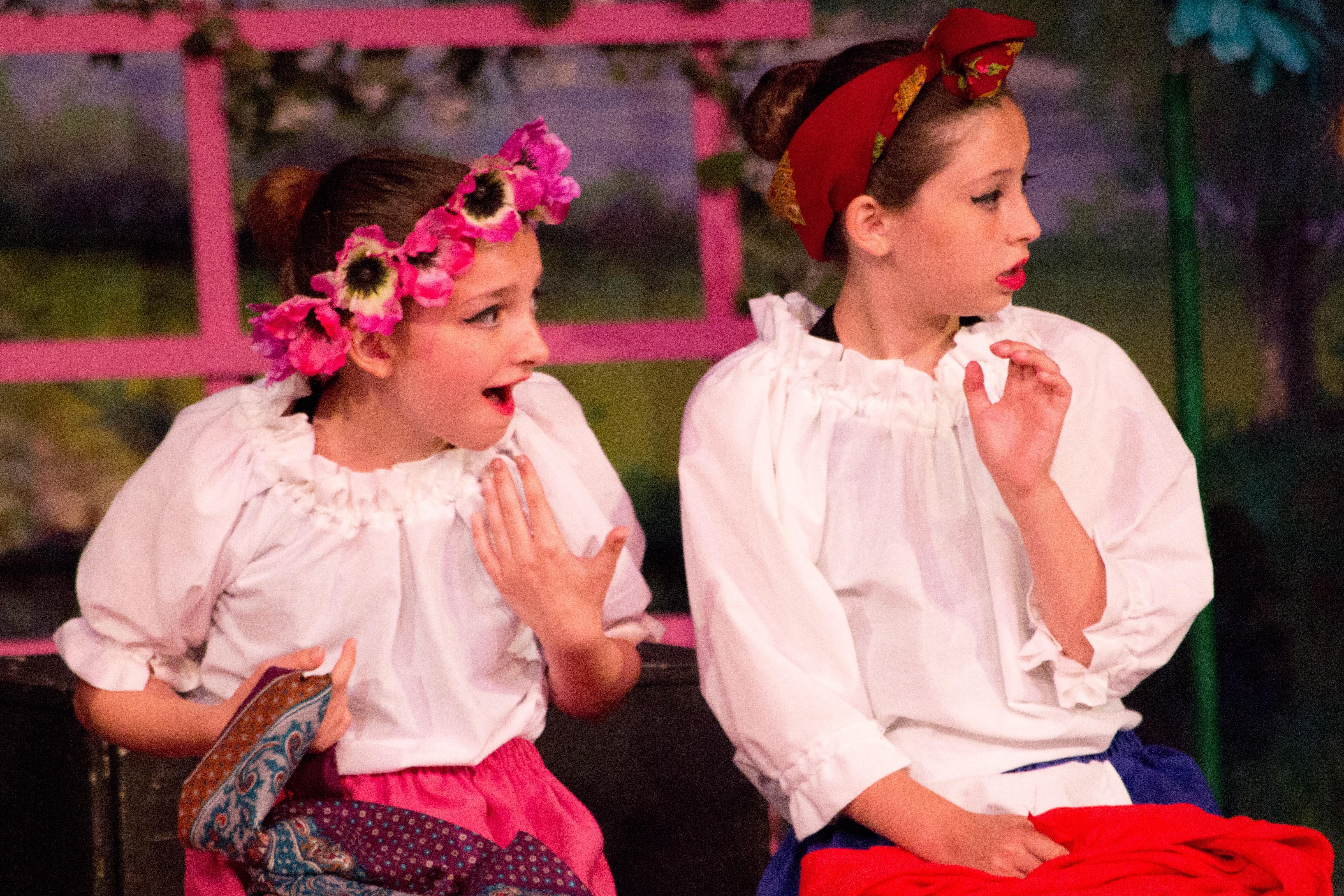 Izzy & Rachel, Russian Dance