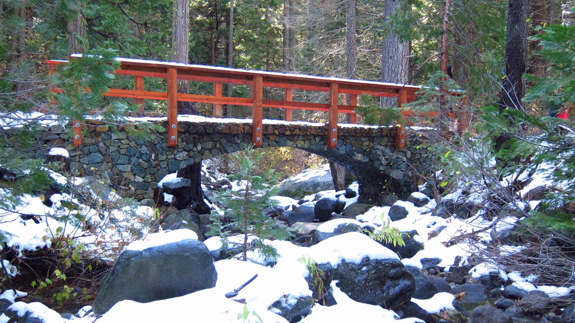 Big Sandusky bridge in Winter