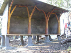 ferroCement woodshed