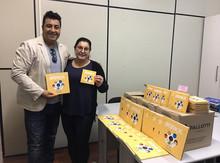Doação de livros em Santo Antônio da Patrulha