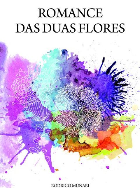 """Livro """"Romance das duas flores"""""""