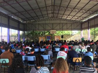 Palestra para 650 alunos em Porto Alegre
