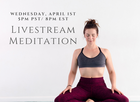 Enter April Meditation - Transcript