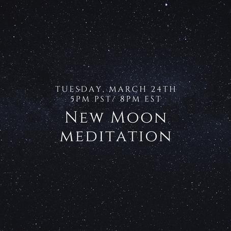 New Moon Meditation - Transcript