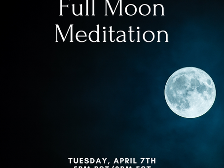 Full Moon Meditation - Transcript
