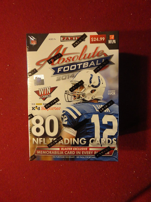 2014 Absolute Football Blaster Box