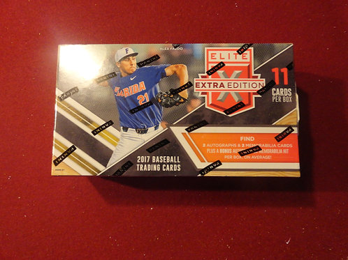 2017 Elite Extra Edition Baseball Hobby Box