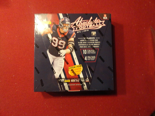 2016 Absolute Retail Premium Football Box