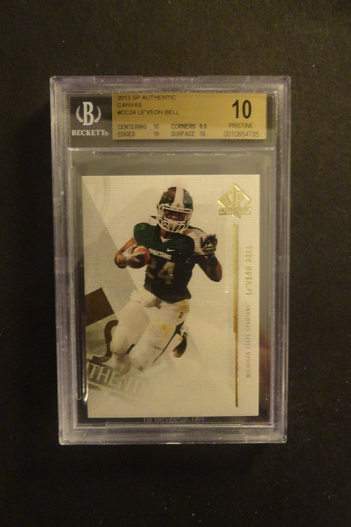 2013 SP Authentic Canvas Le'Veon Bell RC BGS 10