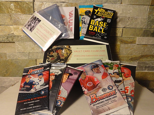 Baseball Deluxe Box - 6 Month Subscription