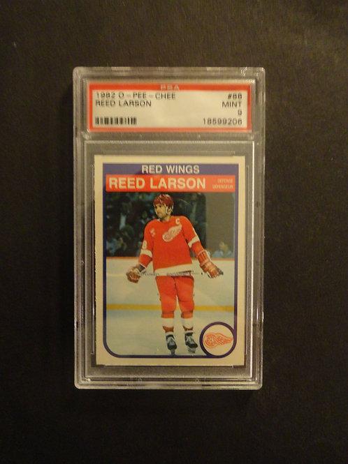 1982 OPC #88 Reed Larson PSA 9