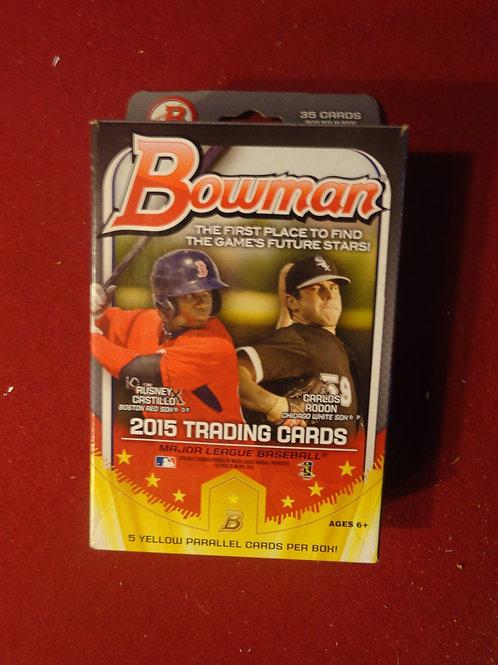 2015 Bowman Baseball Hanger Box