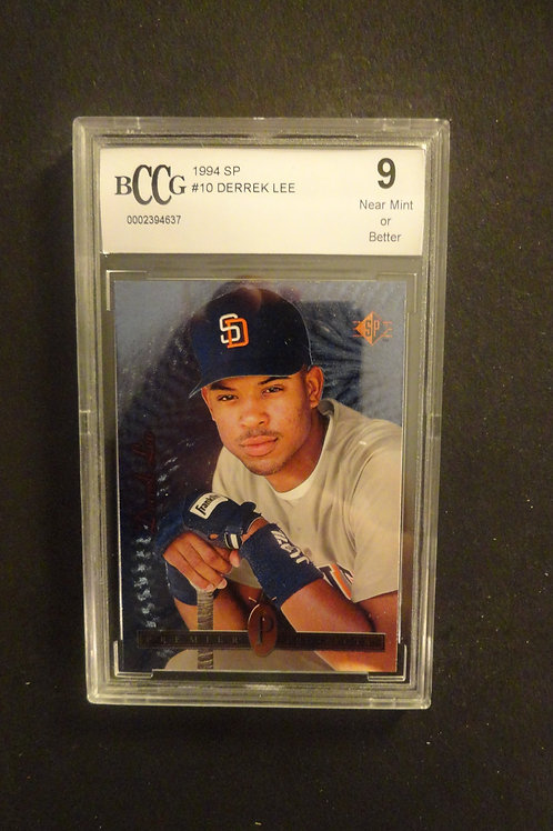 1994 SP Foil Derek Lee RC BCCG 9