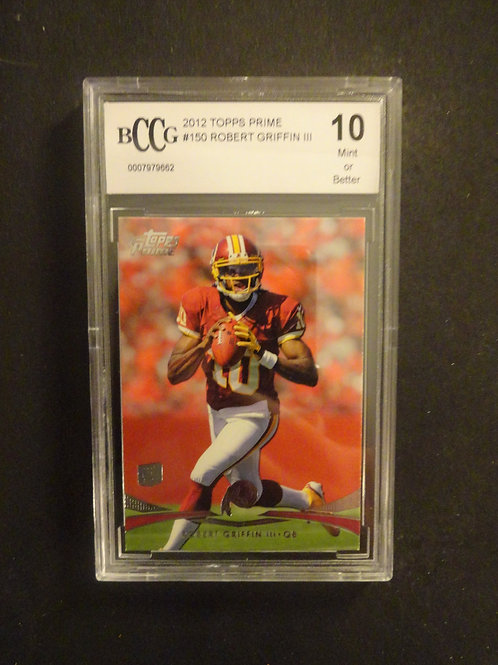 2012 Topps Prime Robert Griffin RC BCCG 10