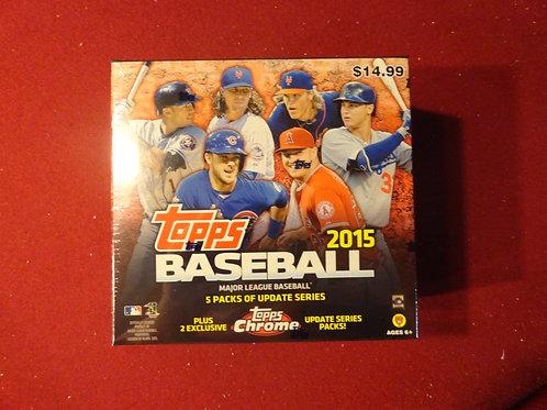 2015 Topps Chrome Update Baseball Mega Box