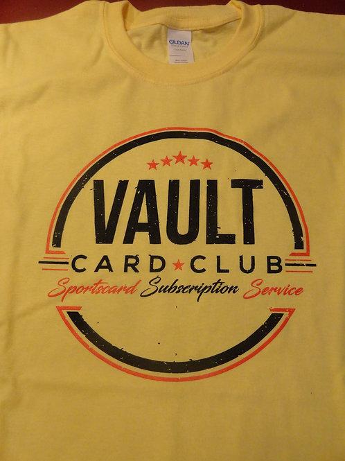 Vault Card Club Short Sleeve T-Shirt (Yellow)
