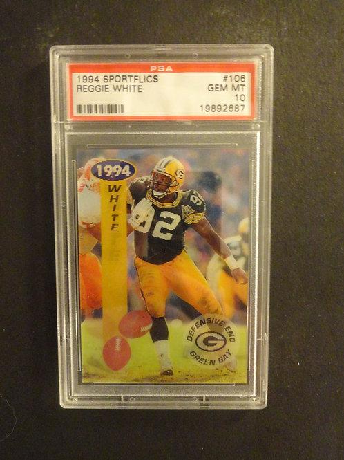 1994 Sportflics Reggie White PSA 10