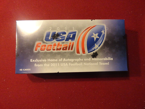 2011 Upper Deck USA Football Box Set