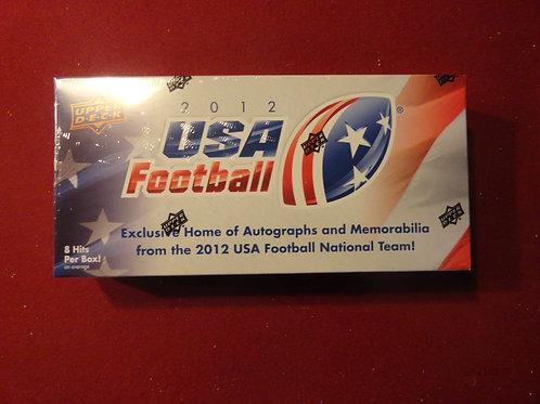 2012 Upper Deck USA Football Box Set