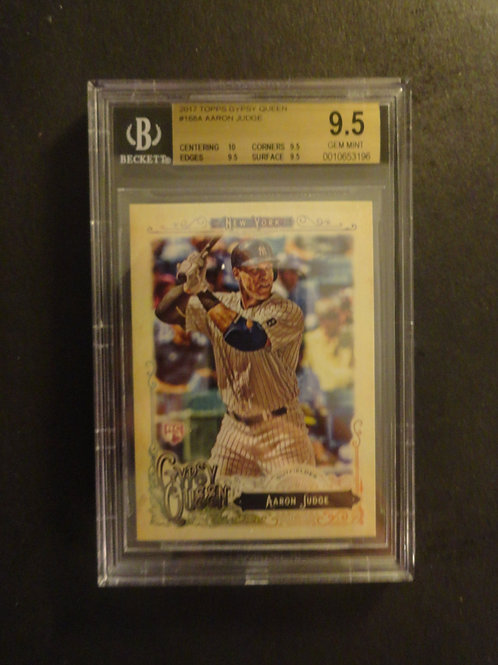 2017 Topps Gypsy Queen Aaron Judge RC BGS 9.5