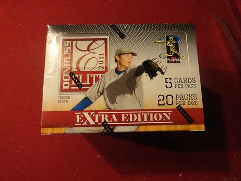 2011 Elite Extra Edition Baseball Hobby Box