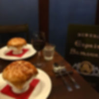 #近日オープン #ビストロ #エスプリサムライ #秋のメニュー #栗 #シャンピ