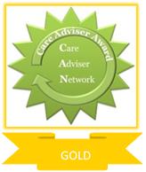 Care Adviser Award -Level 3. GOLD