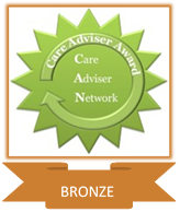 Care Adviser Award - Level 1. BRONZE